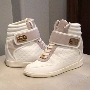 bebe sport hightops Wedges